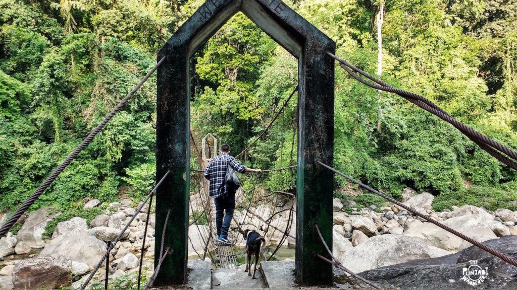 The First Bridge- Northeast Road Trip - The Punjabi Wanderer